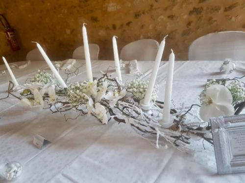 centre de table composition-florale-mariage